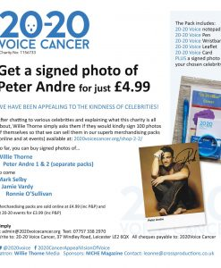 Peter Andre 1 merchandising pack