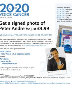 merchandising pack Peter Andre 2
